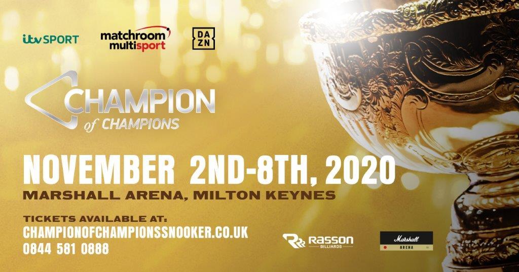 MARSHALL ARENA, MILTON KEYNES TO HOST 2020 CHAMPION OF CHAMPIONS ...